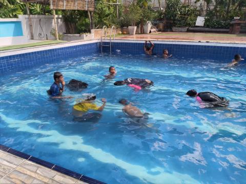โครงการ เพิ่มทักษะการว่ายน้ำเพื่อเอาชีวิตรอด ประจำปีงบประมาณ พ.ศ